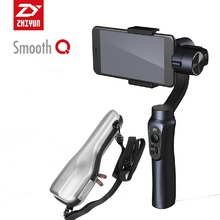 Zhiyun Suave Q $ Number Ejes Cardán Estabilizador de Mano sin contrapeso para iPhone Huawei Samsung Android Smartphone