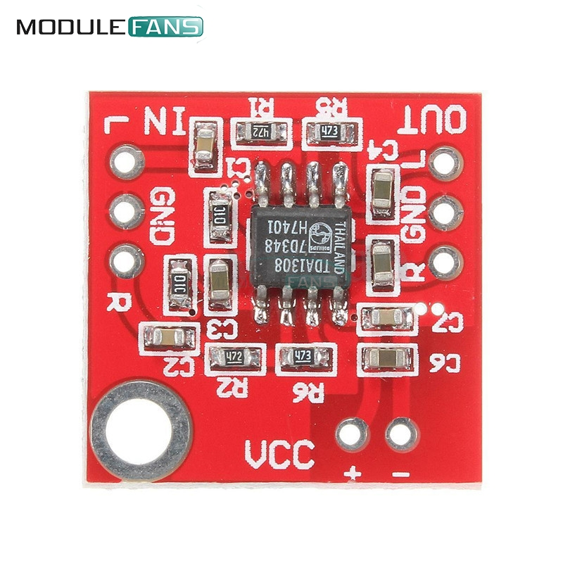 Active Components Obedient Stereo Tda1308 Headphone Amplifier Board Headset Amp Preamplifier Board Module 3v-6v Diy Kit Electronic Pcb Board Module Integrated Circuits