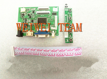 VS-TY2662-V2 HDMI VGA 2AV 40 /50 Pins PC Controller Board for Raspberry PI 3 EJ101IA-01G 8 bit IPS LCD Display Driver цена