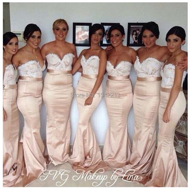 7fddba5a4fce € 108.12 |Sirena del amor del Estilo de dama de Honor Vestido de Mujer Sexy  Bodas y Eventos Vestidos de Fiesta Vestido De Festa 2017 en Vestidos ...