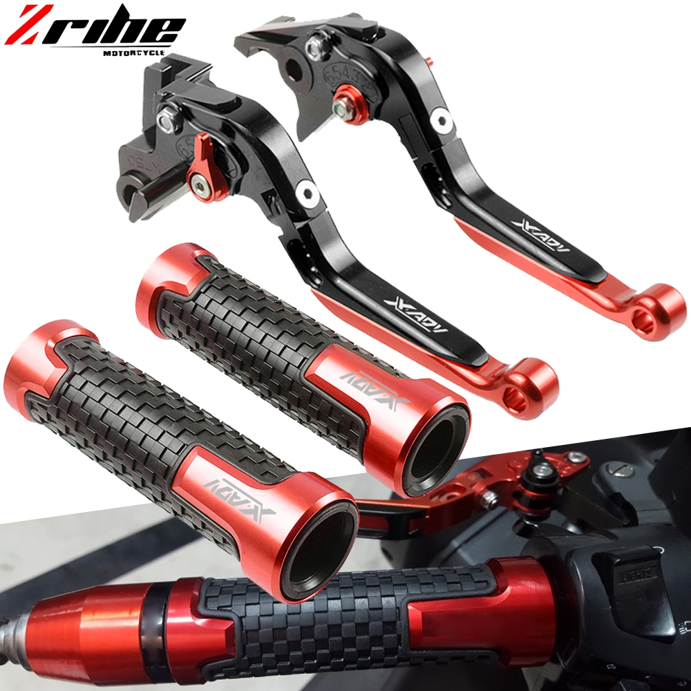 For HONDA X ADV 750 X-ADV Brake Clutch Lever Handlebar Hand Grips Handle Grip 2017 2018 XADV