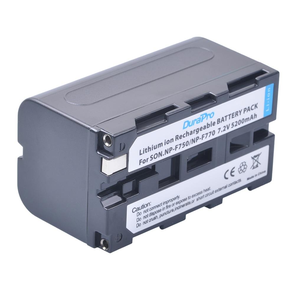 1pc 7.2V 5200mAH NP-F750 NP-F770 NP F750 NP F770 Li-ion Battery for Sony ccd-tr917 ccd-tr940 ccd-trv101 ccd-trv215 ccd-trv25