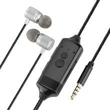 VBESTLIFE Gravador de Chamadas Do Telefone do Fone de ouvido 3.5mm Jack de Gravação De Conversa Fone de ouvido Mini Fone de Ouvido Para o iphone Frete Grátis