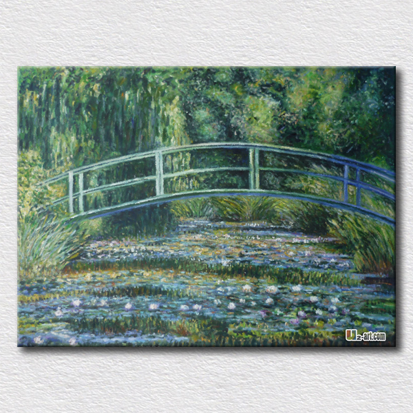 Famous Oil Painting On Living Room Monet Canvas Pictures
