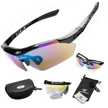 Bike Professional Cycling Glasses Sports Sunglasses Myopia Eyewear UV400 5 Lens