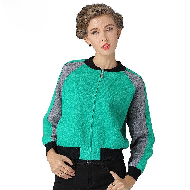 2017 NEW Women Cardigans Winter Christmas Open Stitch Knitting Sweater Cardigans O-neck Long Sleeve zipper Cardigan Jacket Coat