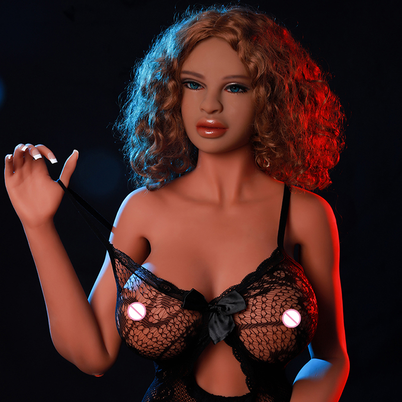 Cosdoll 168cm Lastest Tan Color Sexy Body Cheap Silicone Sex Dolls Big Breasts Real Sex Doll for Men Masturbation Love Companion cosdoll tm 162cm newest tan shemale sex doll 3d dildo vagina big breasts bisexual silicone sex dolls for men women gay lesbian