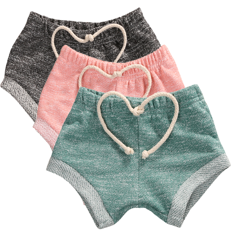 Fashion Baby Kids Cotton Shorts Candy Color Bottoms Toddler Shorts Baby Boy Girl Summer Bloomers 0-4T