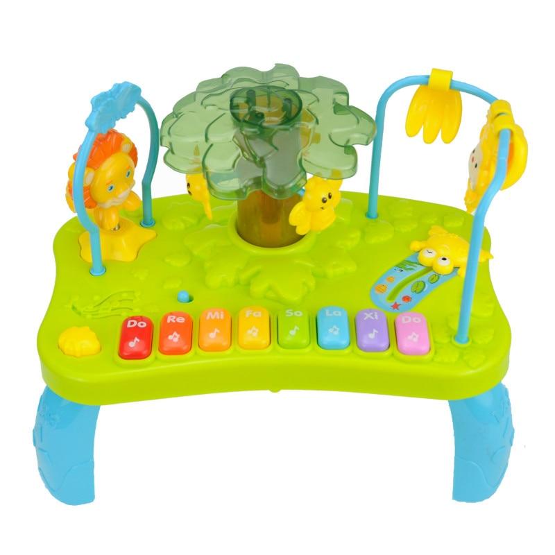 Игрушки для малышей 13 24 месяцев музыкальные игрушки для обучения фортепиано для малышей игрушки для детей Oyuncak игрушка на коляску