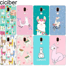 ciciber for Nokia 2.1 3.1 5.1 6.1 7.1 8.1 2 3 6 5 1 7 8 Plus 9 PureView Soft TPU Phone Cases X7 X6 X5 X3 Llama Alpaca