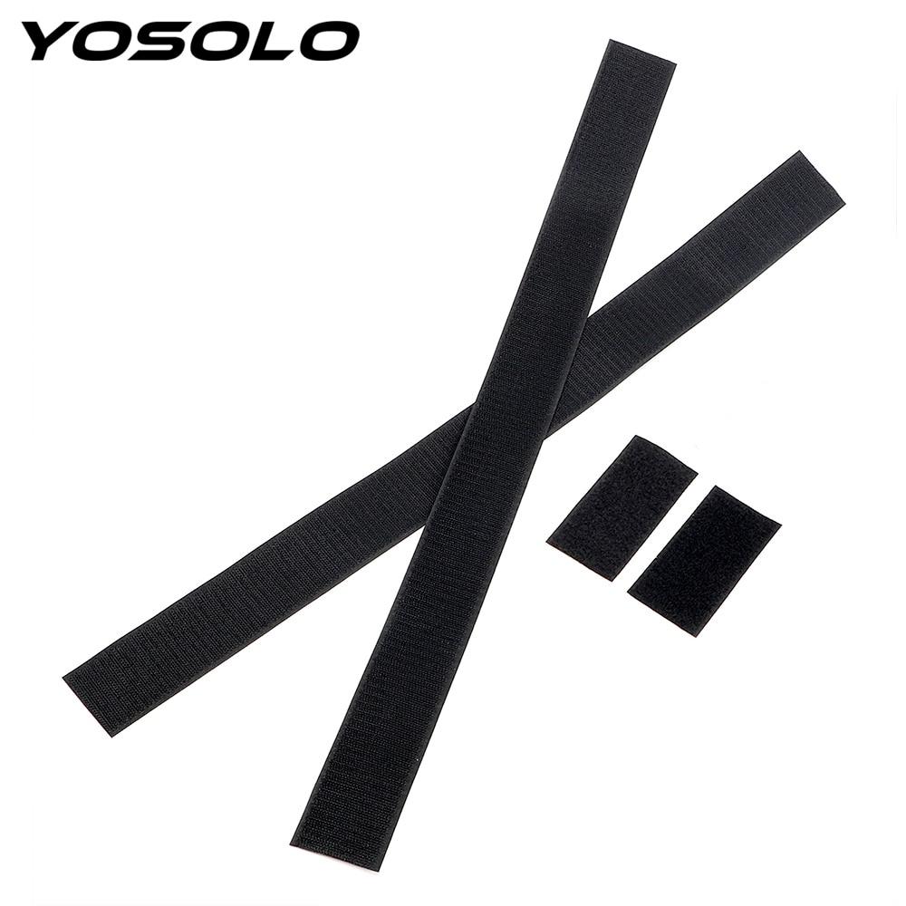 YOSOLO 60 x 5cm Black Belt Fixed Sundry Car Trunk Organizer Fire Extinguisher Mount Straps Stowing Tidying Car-styling