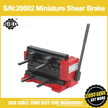 SN:20002 Miniature Shear BrakeSIEG 8 Mini ShearBrakeManual Bending Machine 21035 lego