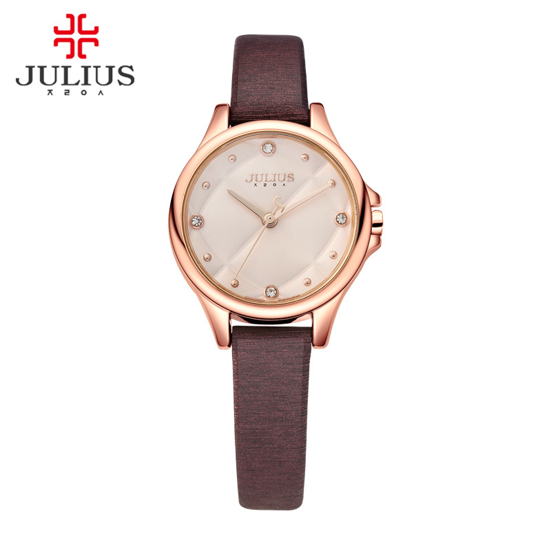 Lady Wrist Watch Quartz Women s Hours New Fashion Rhinestone Checkboard Dress Bracelet Leather Girl Birthday