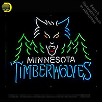 Neon Sign for MT Neon Tube Sign Minneso Wolves commercial handcraft Lamp Store Displays Gifts light Flashlight sign personalised