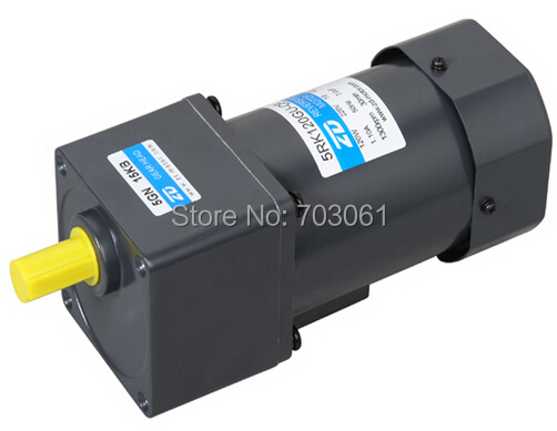 120W single phase reversible motor 90mm AC gear motors used for industry business Ratio 200:1 huter r 250