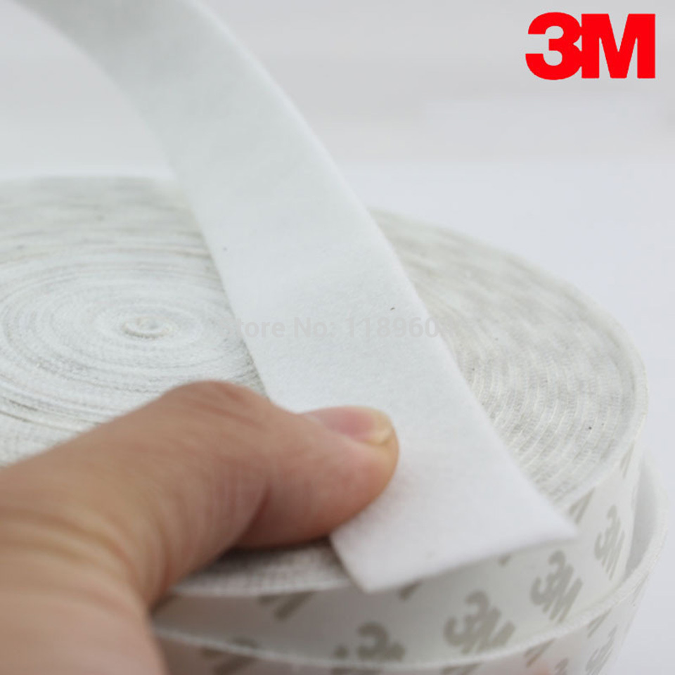 Image 2 - 1.5cm*1m 3m self adhesive felt tape, wool Felt strip Felted sliders, window guide tape felt for Bubble removing MO 20W-in Car Stickers from Automobiles & Motorcycles