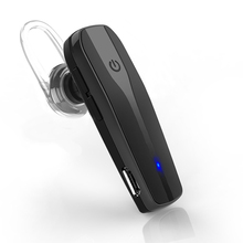 Bluetooth Headset Wireless Bluetooth Hand-free Headset with Clear Voice Capture Technology Safty Driving for iPhone SAMSUNG