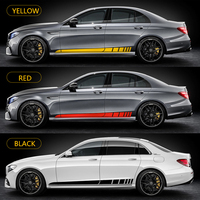 World Datong AMG styling sport car sticker For Mercedes Benz A Class C Class E Cleass whole body decals auto sticker