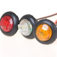 Free Shipping LED Lamp 0 75 LED Trailer Lamp Small Clearance Lamp Marker Light For Truck