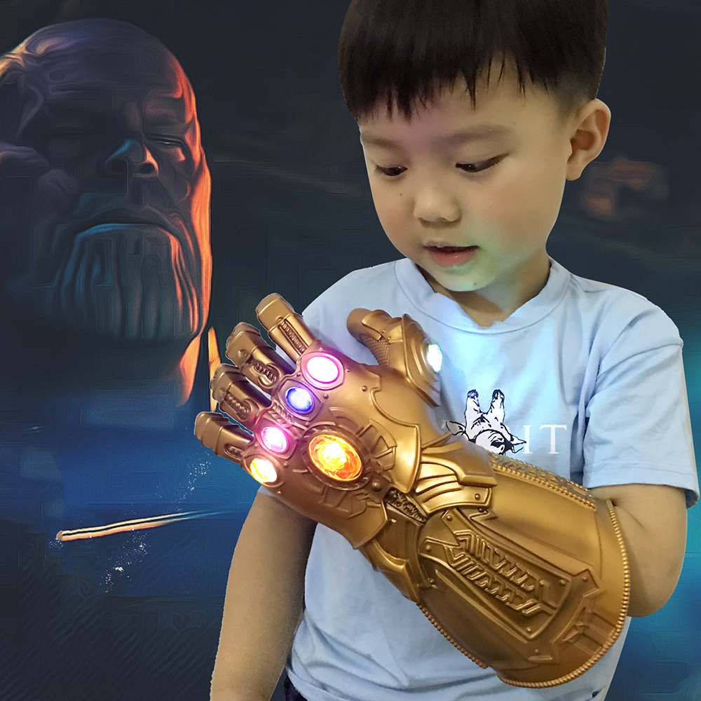 2 Size cosplay Props Avengers 4 Aldut/Child  LED Light Thanos Infinity Gauntle War LED Light Thanos Gloves t Avengers 4 Infinity2 Size cosplay Props Avengers 4 Aldut/Child  LED Light Thanos Infinity Gauntle War LED Light Thanos Gloves t Avengers 4 Infinity
