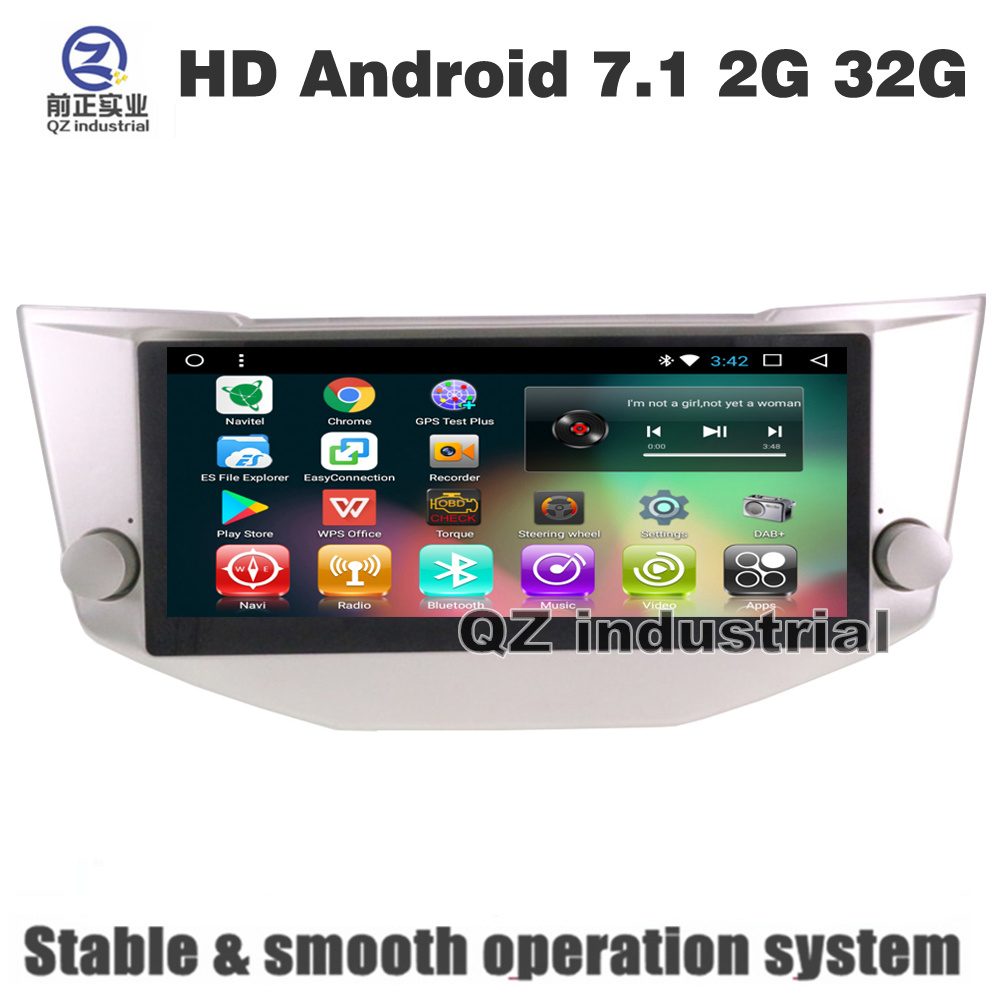 QZ industrial HD 8.8inch Android 7.1 T3 for Lexus RX330 RX350 Car DVD player  with GPS 3G 4G WIFI BT Radio Navigation SWC RDS-in Car Multimedia Player  from ...