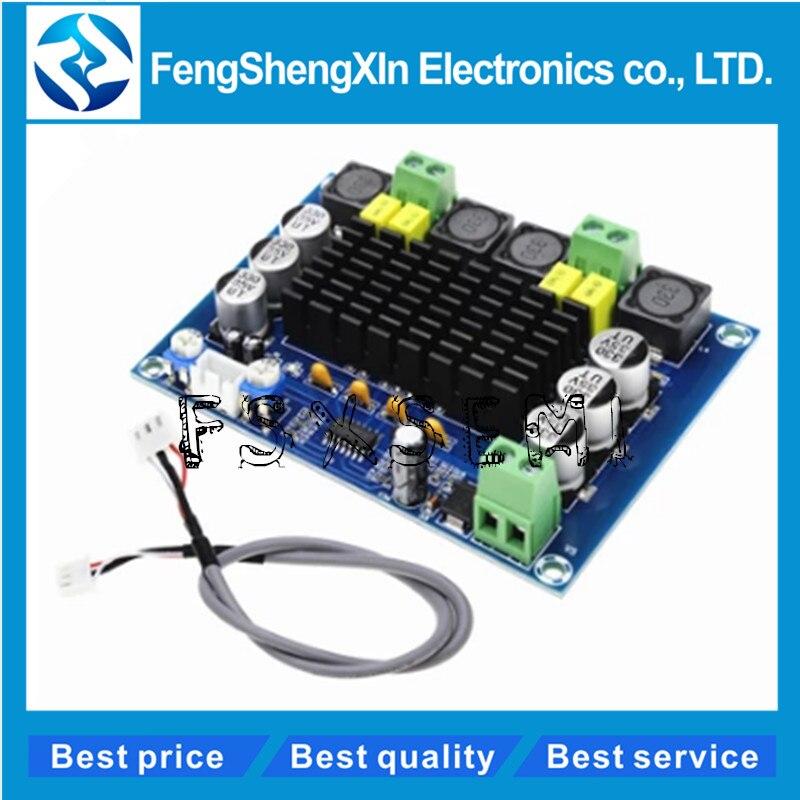 TPA3116D2 XH-M543 Dual-channel Stereo High Power Digital Audio Power Amplifier Board 2*120W  TPA3116D2 XH-M543 Dual-channel Stereo High Power Digital Audio Power Amplifier Board 2*120W