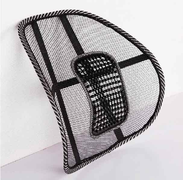 10 pz/lotto di Massaggio traspirante lombare della parte posteriore cuscino di ghiaccio di vita foderato da sedia auto cuscino - 2
