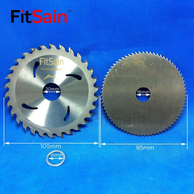 "FitSain--4"" Saw Blades For Wood Plastic Cutting Discs Mini Electric Chainsaw Circular Wood Cutter 100mm"