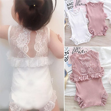 gxmjxdgmlndcp 2019 Summer Newborn Bebe Princess Lace Cotton