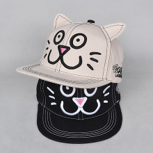 3237f7136 2018 Lovely cat ear Hello Kitty Embroidery Kids Women Men Baseball Caps  Gorras Casquette Parent children
