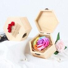 15 цветов креативное вечное мыло в подарочной коробке искусственное мыло в виде цветов розы отправьте друзьям имитация арахиса подарок на день Святого Валентина
