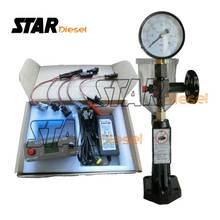 Auto wtryskiwacz oleju napędowego Tester maszyna CRI800 CRI100 Port USB paliwa Piezo dysza wtryskowa Tester sprzęt E1024031 220V i 110V