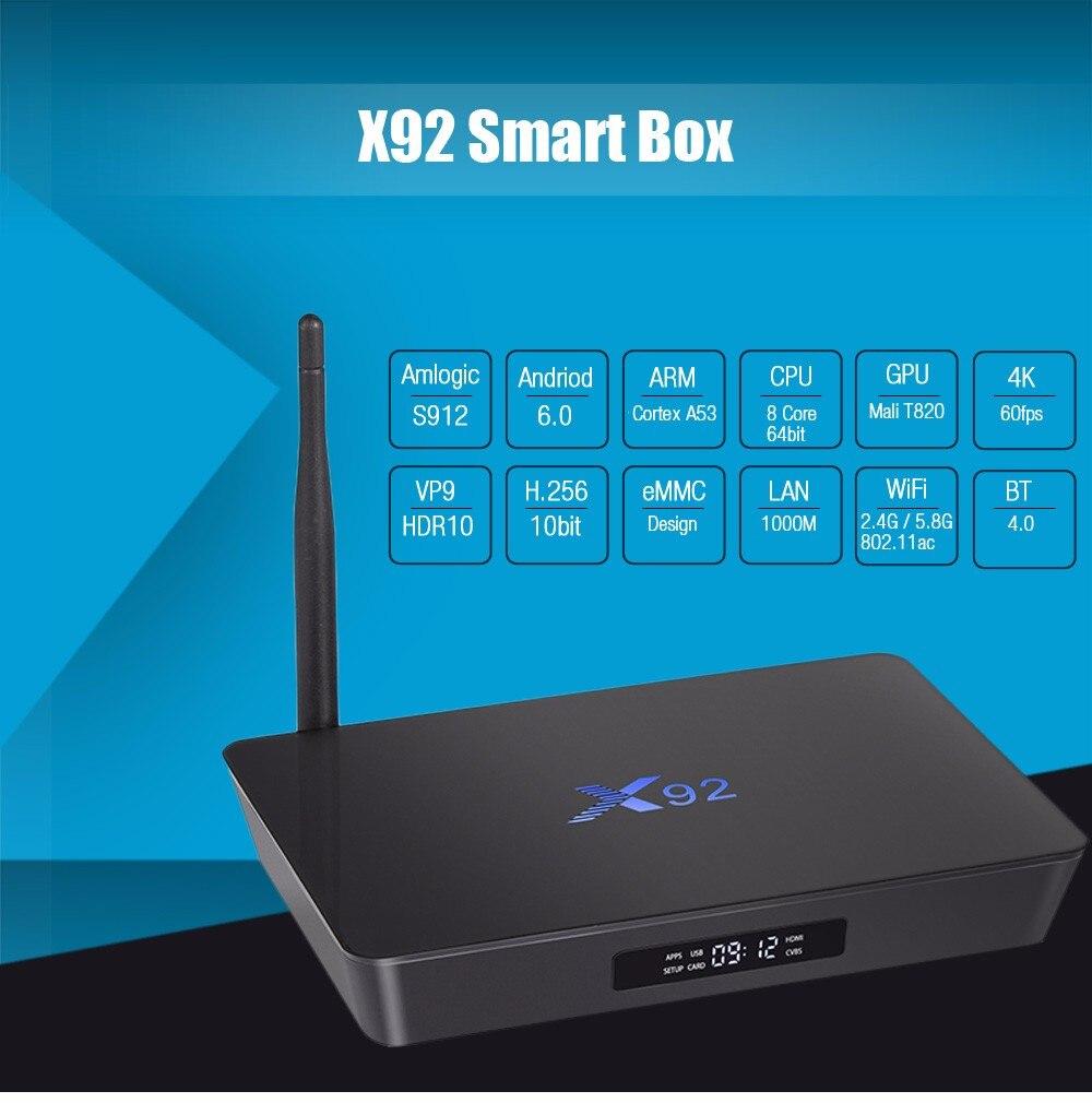 X92 Android 6.0 TV Box X92 Android 6.0 TV Box HTB1BO0Wb97PL1JjSZFHq6AciXXa0