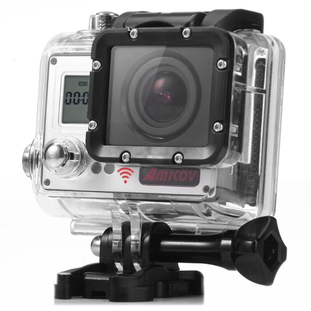 Amkov AMK7000S 4K Ultra HD 2 inches TFT WiFi Action Camera DV Sunplus 6350M SPCA6350 OV4689 Image Sensor waterproof Sport camera тв модуль ci триколор k m evr единый ultra hd европа