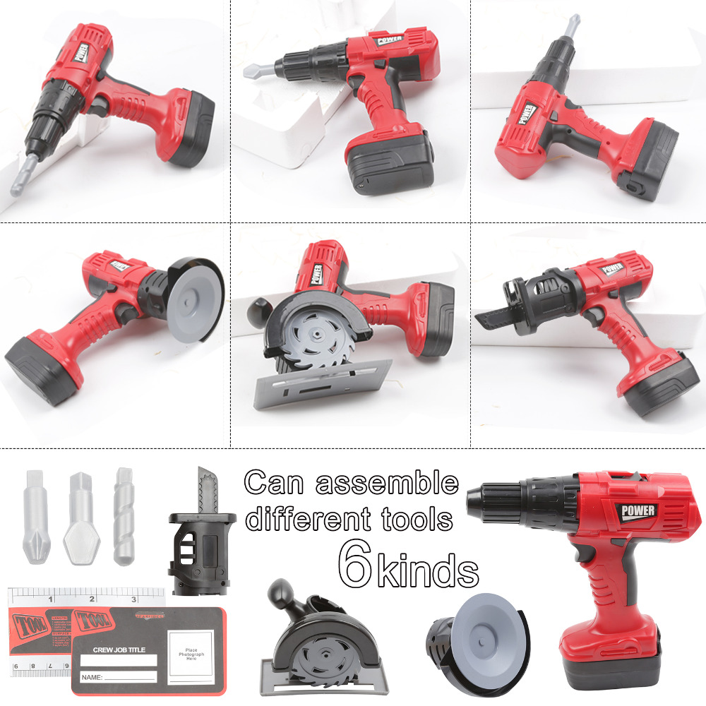 Real Construction Power Drill