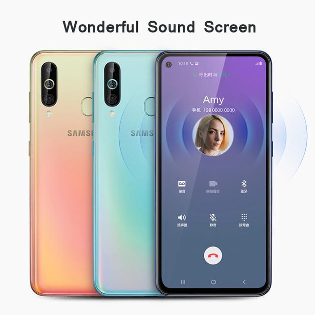 Samsung Galaxy A60 SM-A6060 Android Smartphones 6.3 inch FHD + Snapdragon 675 Octa Core 6GB 3500mAh 32MP