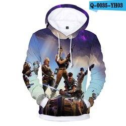 YLS 3d Hoodies Roblox Sweatshirts Cartoon Hoody Casual Trainingspakken Full Colored BlouseT-shrits Pullover Drop Ship Streetwear