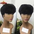 Fashion Celebrity short human hair wigs Glueless Full Lace Human Hair Wigs Chic Cut Unprocessed Virgin Brazilian Human Hair Wigs