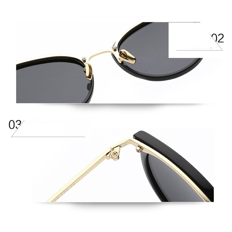 2016 Oval Vintage Goggles Women Men New Fashion Polarized Sunglasses For Ladies Party Glasses For Small face 0759 (6)
