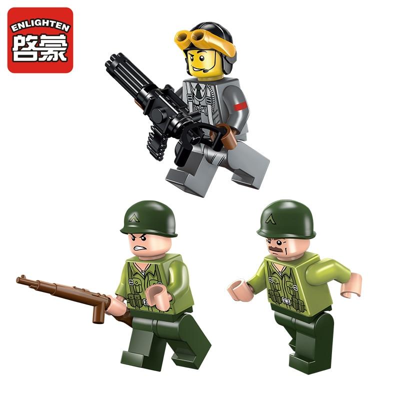 Éclairer Militaire Éducatif Éducatif Jouets Pour Enfants Cadeaux - Concepteurs et jouets de construction - Photo 4