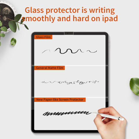 Brand New Paper-Like Anti Glare Matte PET Screen Protector for iPad 9.7 iPad Pro 10.5 inch Paper Texture Screen Protective Film Lahore