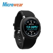 Microwear L2 Smart Watch MTK2502 Smartwatch IP68 Waterproof Bluetooth Calling Heart Rate Sleep Monitor Sports Watch