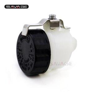 Left Hydraulic Clutch Oil Fluid Reservoir Cup Cylinder Tank For HONDA CB CBR 1000 VTR RVT 1000 R/RR For SUZUKI GSX-R GSXR 1000(China)