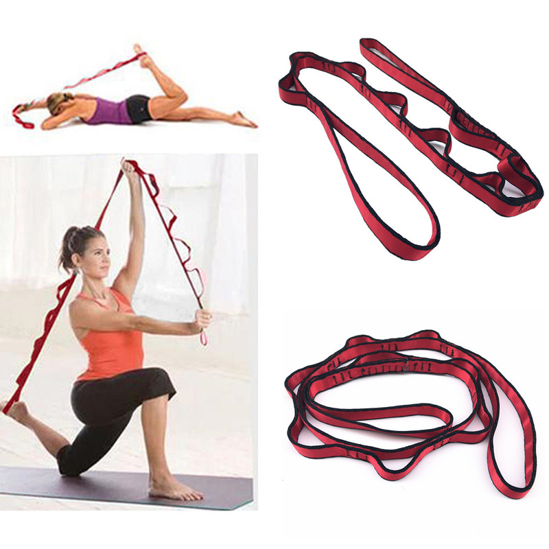 2 Meters Multi Grip Stretche Strap Anti-gravity Chrysanthemum Rope Jump Stretch Belt Yoga Band Aerial Yoga Hammock Accessories Good Reputation Over The World Fitness Equipments Resistance Bands