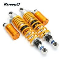 KOWELL 325mm Adjustable Universal Motorcycle Shock Absorber Spring Buffer Damping Bumper Power Cushion Maintenance Repair Part