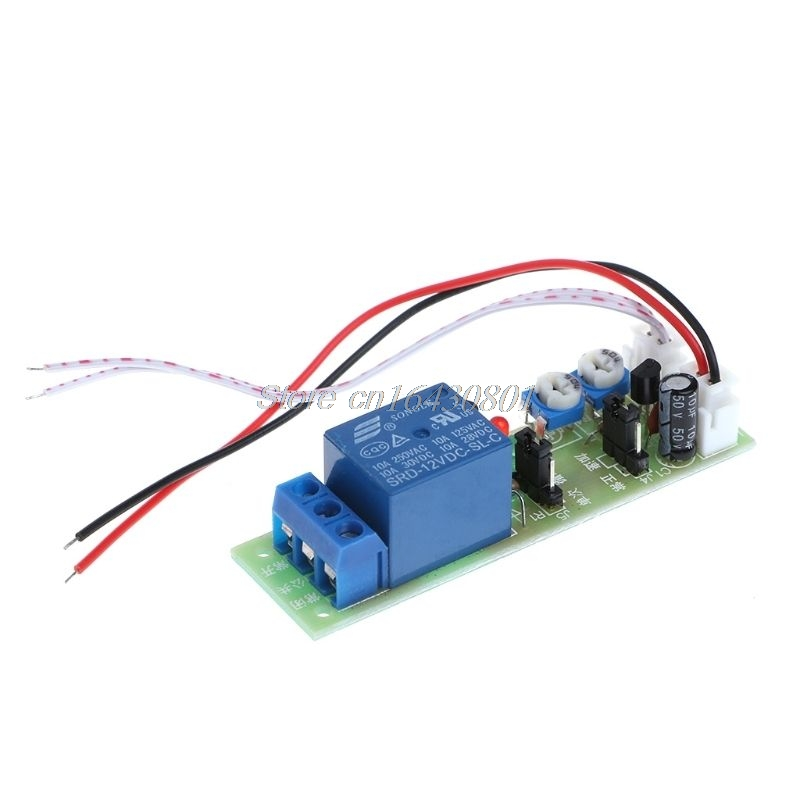 12V DC Infinite Cycle Delay Timing Timer Relay ON OFF Switch Loop Module Trigger S18 Drop ship 1pc timer delay relay delay turn on delay turn off switch module with timer dc 12v