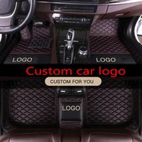 Special car floor mats for Porsche Cayenne SUV Cayman Macan Panamera Waterproof leather Anti slip carpet liners