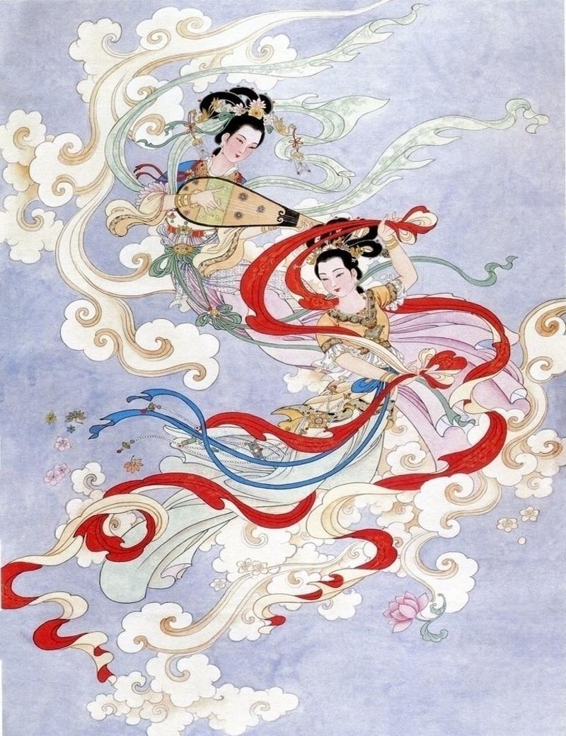 Hadas chino libros para colorear para niños adultos aliviar el ...