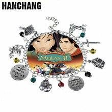 HANCHANG Jewelry Chinese Female Hero Mulan Charm Bracelet US