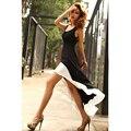 Vestidos 2017 Лето Dress Женщины Без Рукавов Танк Молоко шелковый Dress Нерегулярные Хем Beach Party Dress Maxi Длинные Женщины Dress